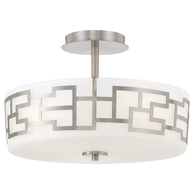 Alecia's Necklace Semi Flush Ceiling by George Kovacs | P198-084