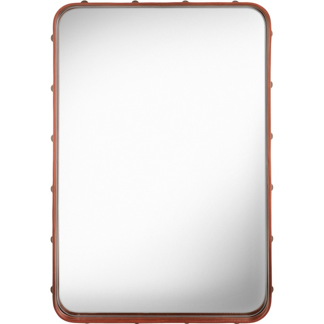 Adnet Rectangular Mirror  by Gubi