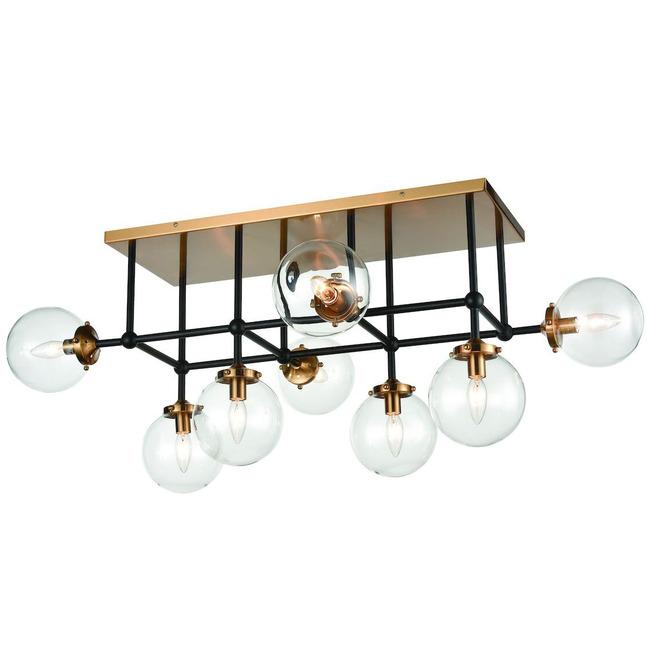 Boudreaux 8 Light Semi Flush Ceiling Light  by Elk Lighting