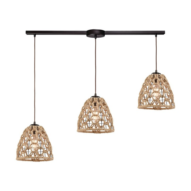Coastal Inlet Island Pendant  by Elk Lighting