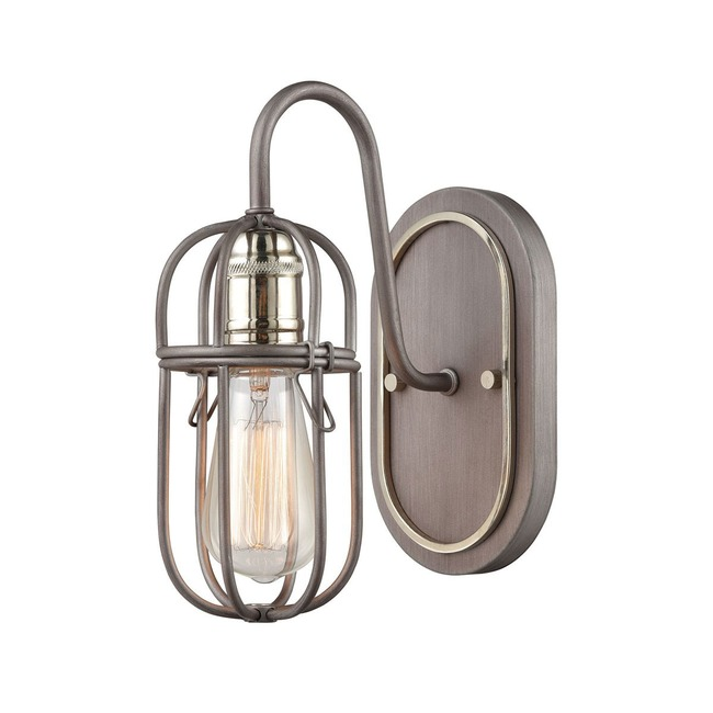 Industrial Cage Wall Sconce  by Elk Lighting