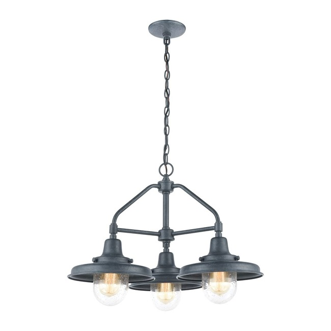 Vinton Station Outdoor Pendant  by Elk Lighting