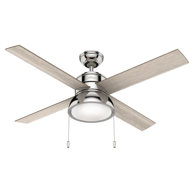 Loki Ceiling Fan with Light  by Hunter Fan