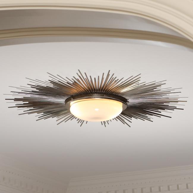 Sunburst Ceiling Light Fixture  by Global Views