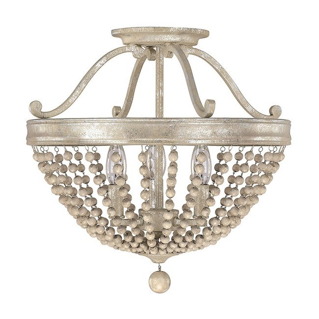 Adele Semi Flush Ceiling Light  by Capital Lighting