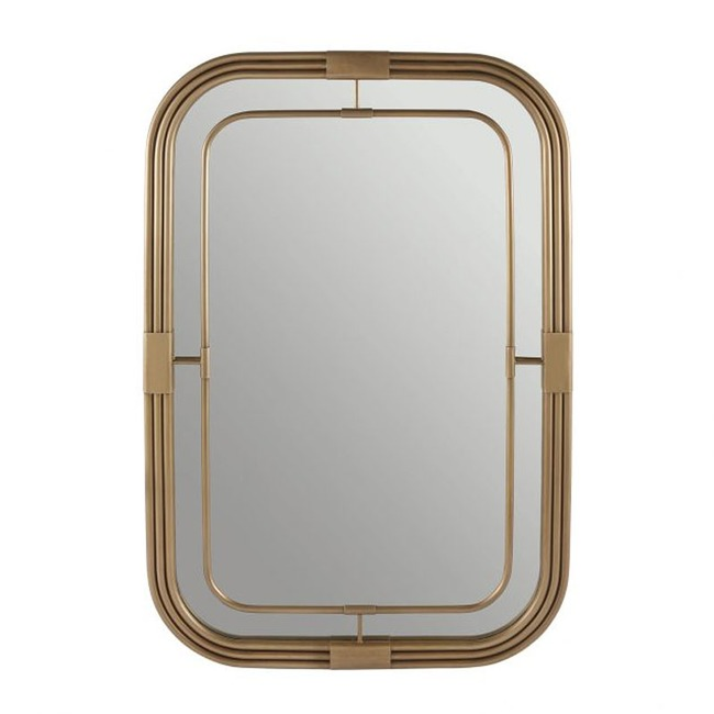 Mid-Century Modern Mirror  by Capital Lighting