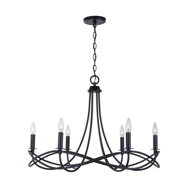 Sonnet Chandelier  by Capital Lighting