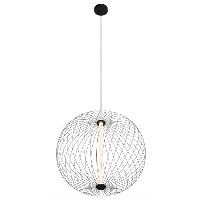 Wireframe Atom Round Pendant  by Modern Lighting