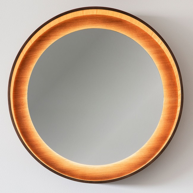 Halo LED Mirror  by Lightology Collection