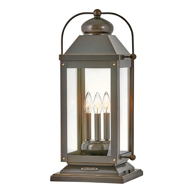 Anchorage 120V Outdoor Pier Mount Lantern  by Hinkley Lighting