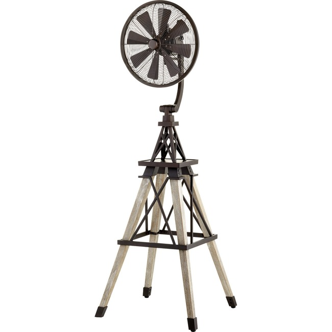 Windmill Floor Fan  by Quorum