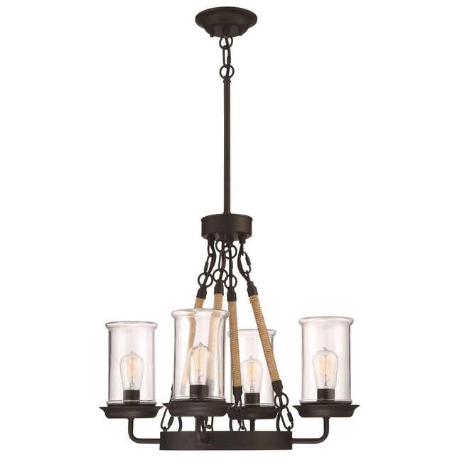 Homestead Outdoor Chandelier  by Craftmade