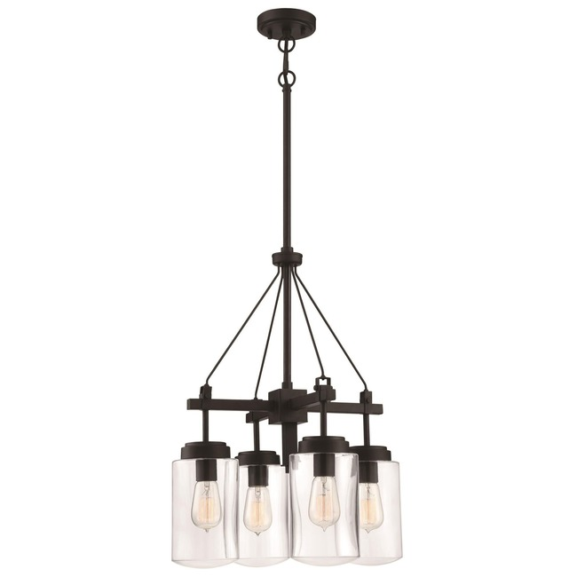 Crosspoint Outdoor Chandelier  by Craftmade