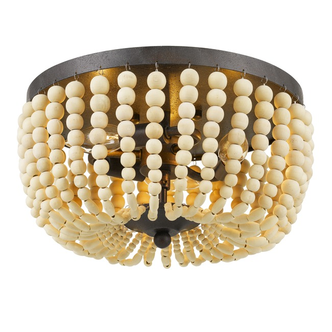 Rylee Wood Ceiling Light Fixture  by Crystorama