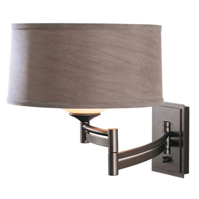 Forged Bar Right Swing Arm Wall Light by Hubbardton Forge | 209310-1052