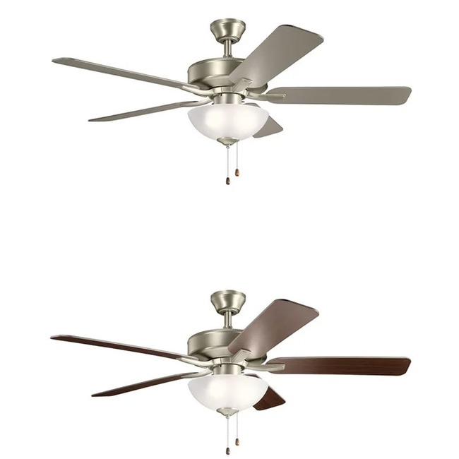 Basics Pro Ceiling Fan with Light  by Kichler