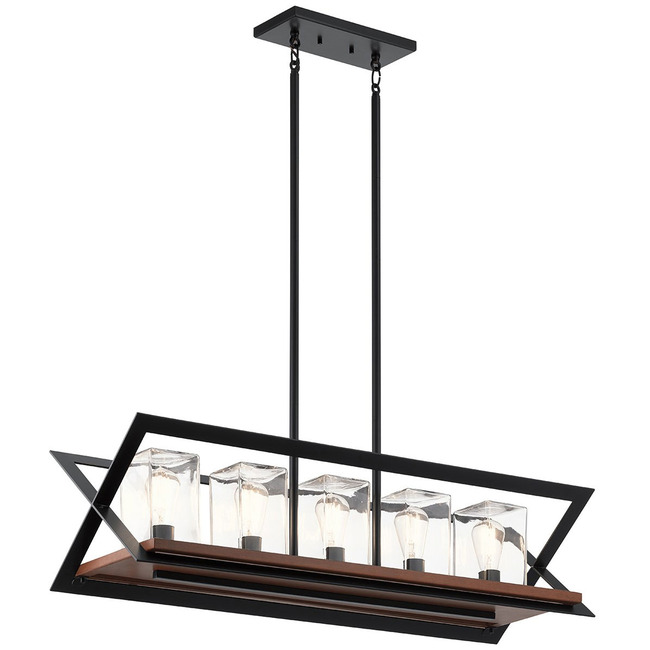 Morelle Outdoor Linear Chandelier  by Kichler