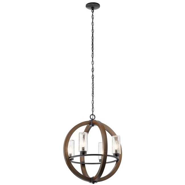 Grand Bank Outdoor Chandelier  by Kichler