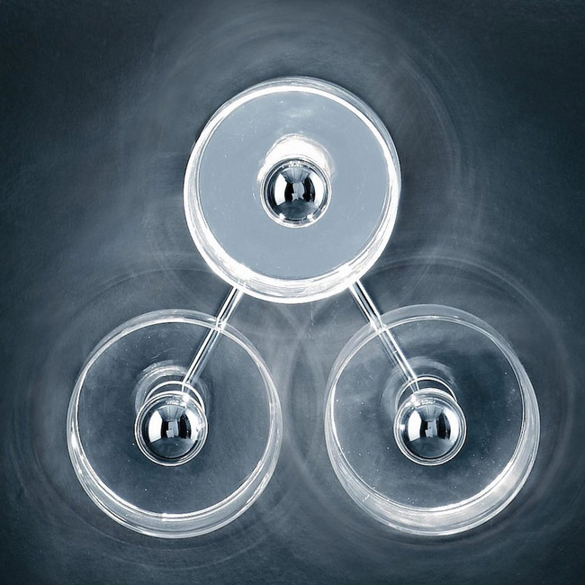 Fiore 103 Wall or Ceiling Light by Oluce Srl | fiore 103