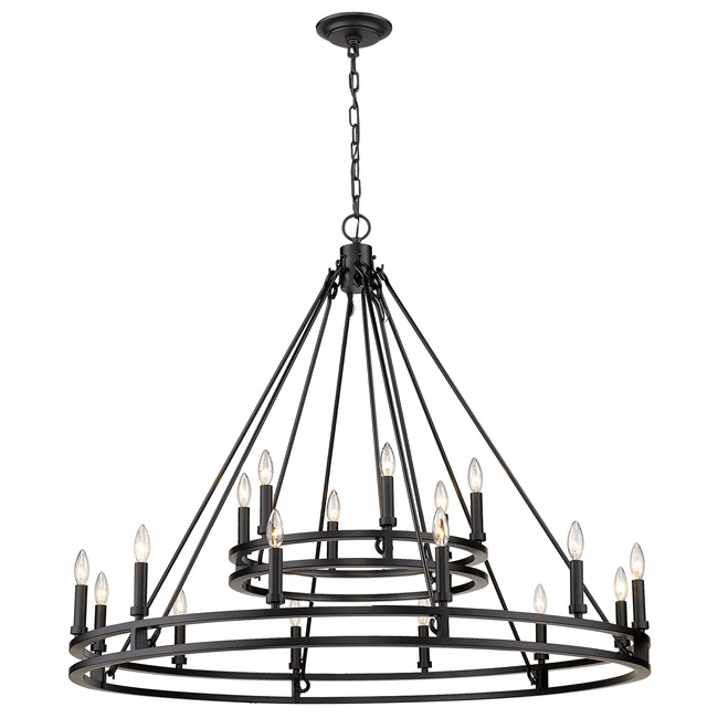 Dennison Two Tier Chandelier  by Z-Lite