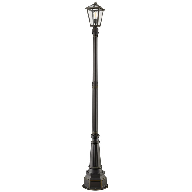 Talbot Post Light with Classic Base  by Z-Lite