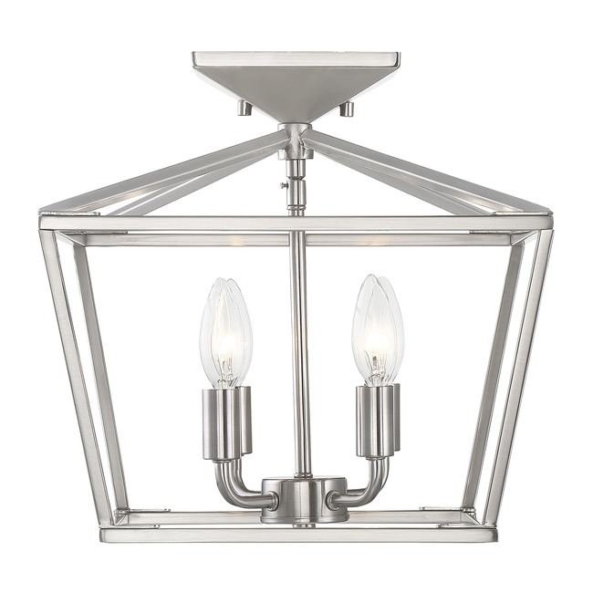 Townsend Semi Flush Ceiling Light  by Savoy House