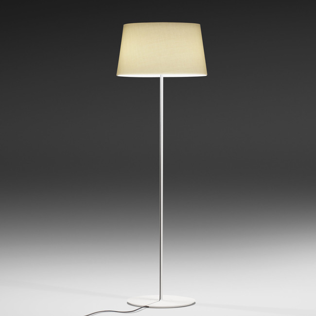 Warm Fabric Shade Floor Lamp by Vibia | 4905-58-INC