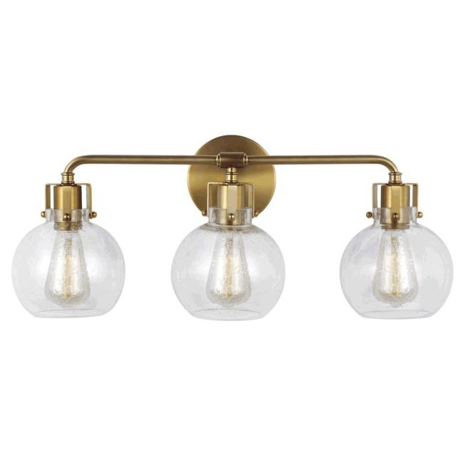 Clara Brass Bathroom Vanity Light By Feiss Vs24403bbs