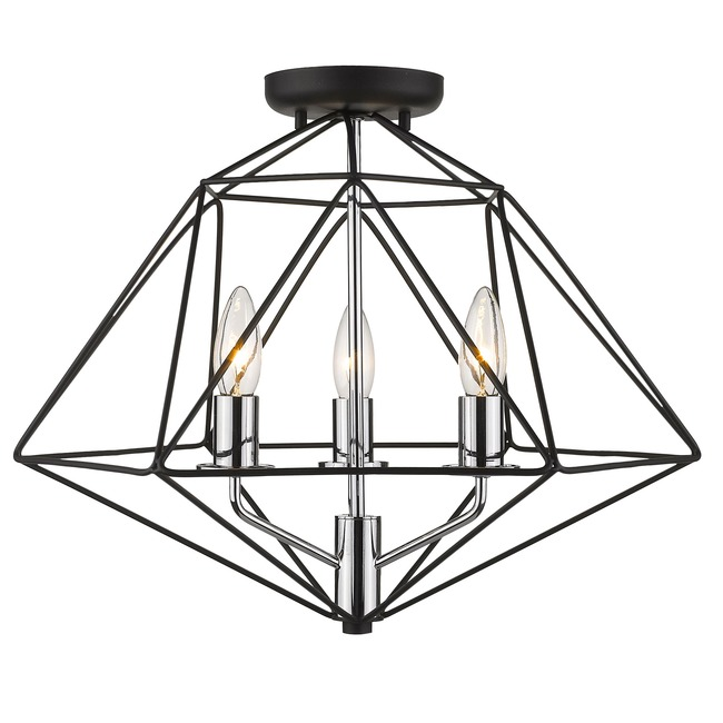 Geo Semi Flush Celling Light  by Z-Lite