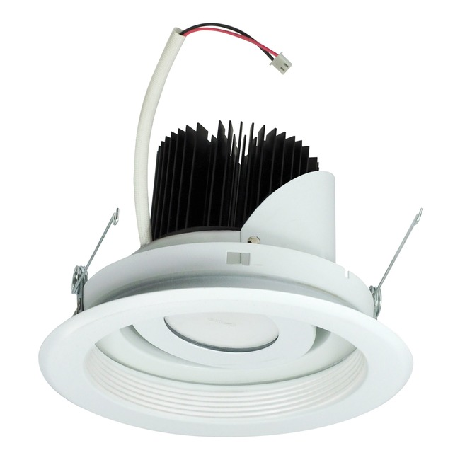 Marquise 6IN RD 11W Adjustable Regressed Baffle Trim  by Nora Lighting