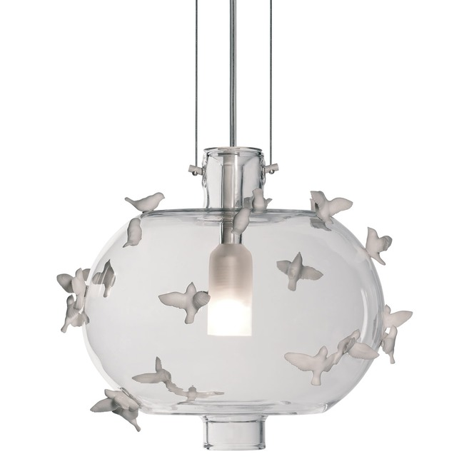 Freeze Frame Birds Pendant  by Lladro