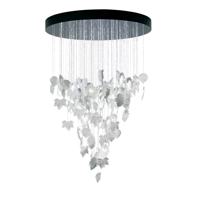 Magic Forest Drop Chandelier  by Lladro