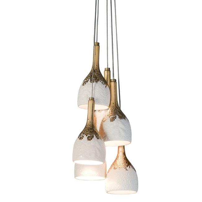 Naturofantastic Multi Light Pendant  by Lladro