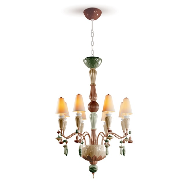 Ivy and Seed Chandelier  by Lladro