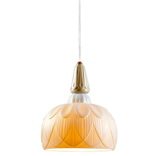 Ivy and Seed Single Pendant  by Lladro