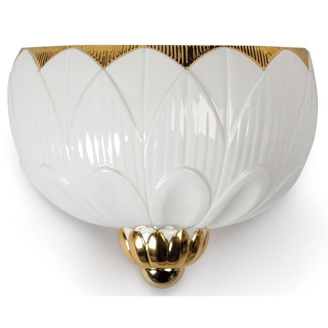 Ivy and Seed Wall Sconce  by Lladro