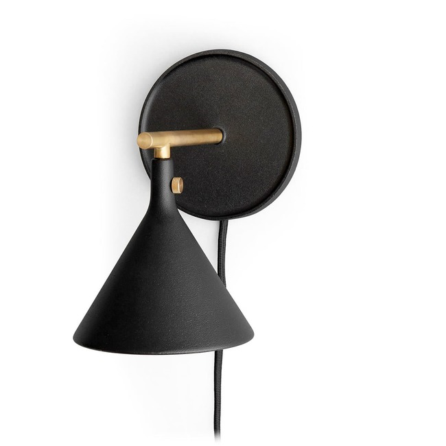 Cast Plug-in Wall Sconce  by MENU
