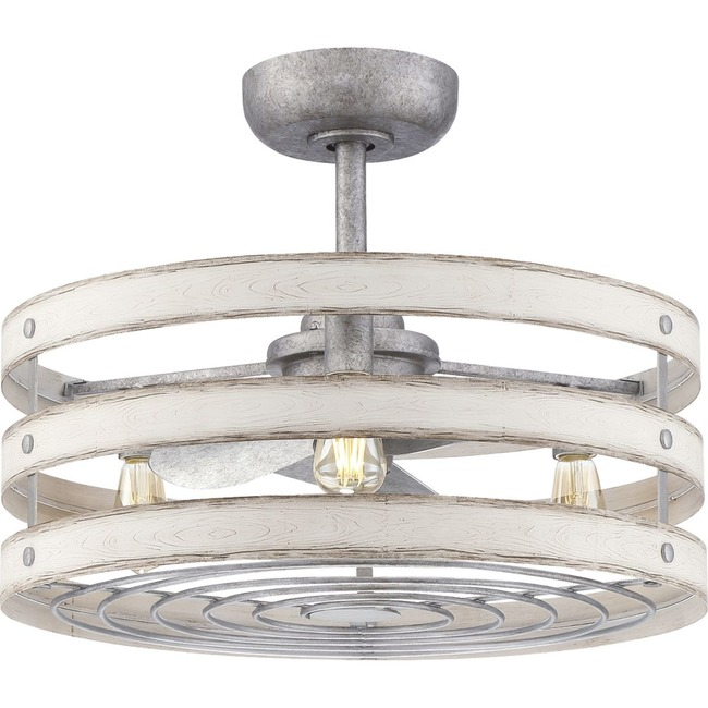 Gulliver Ceiling Fan with Light  by Progress Lighting