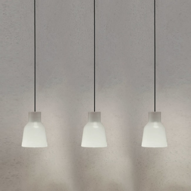 Drip Linear Multi Light Pendant  by Bover