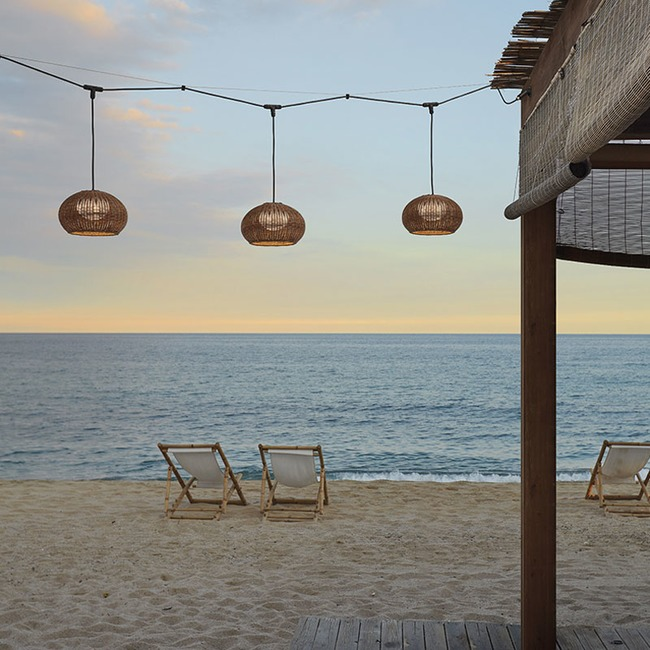 Garota Outdoor Catenary Pendant  by Bover