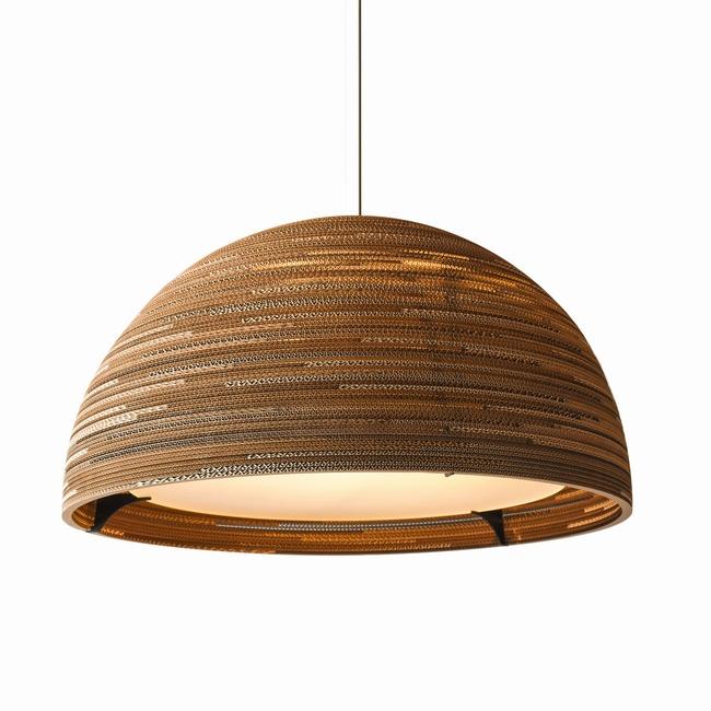 Scraplight Dome36  Pendant  by Graypants