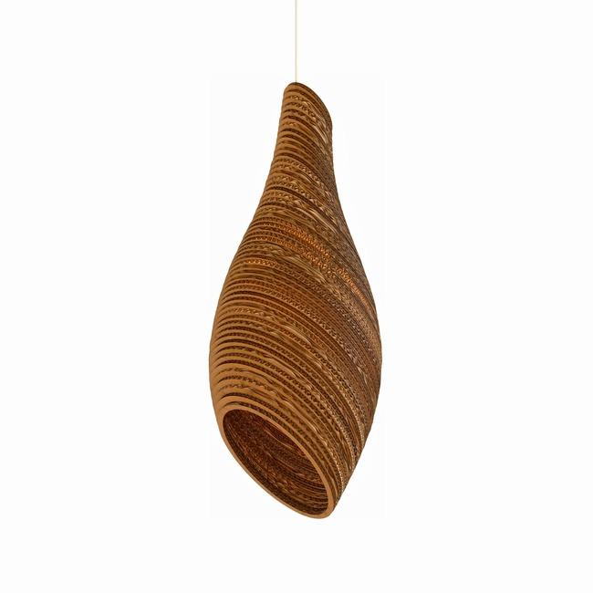 Nest Scraplight Pendant  by Graypants