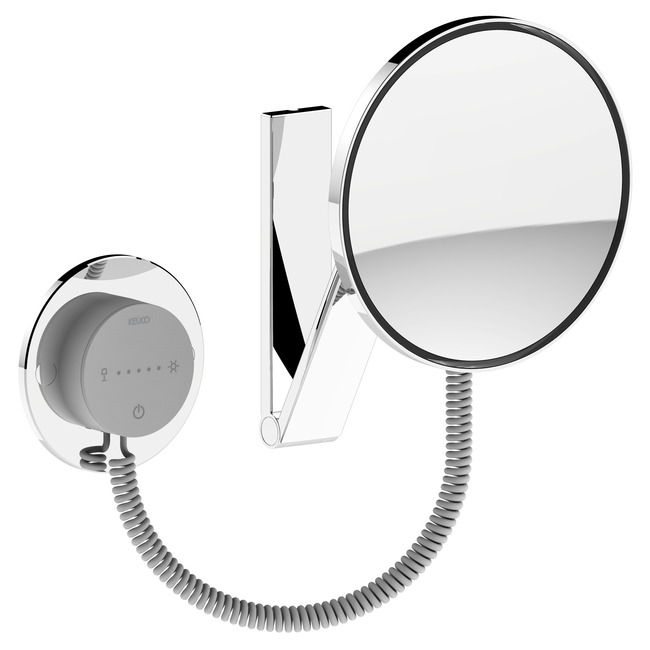 ilook Move 50 Round Cosmetic Mirror  by Keuco