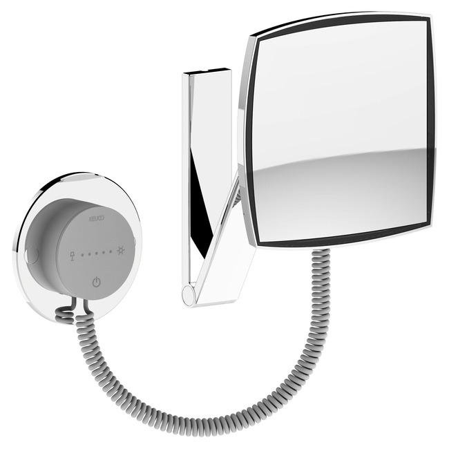 ilook Move 50 Square Cosmetic Mirror  by Keuco