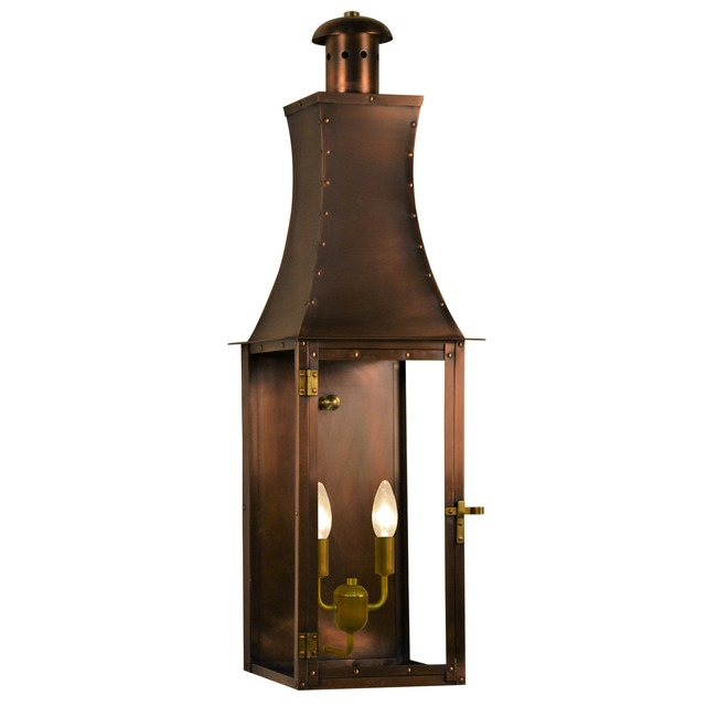 Churchill Outdoor Flush Wall Light  by The CopperSmith