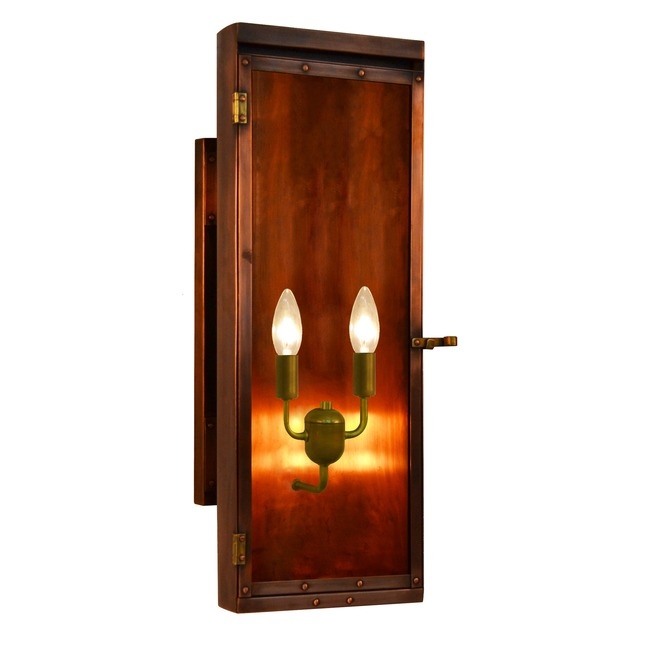 Luna Outdoor Wall Light  by The CopperSmith