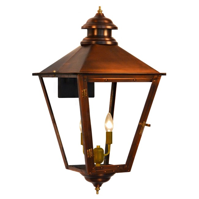 Adams Street Outdoor Wall Light  by The CopperSmith