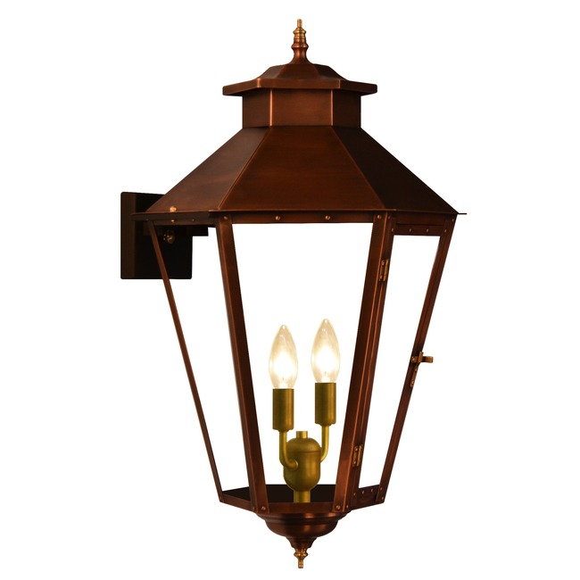 Bayou Street Outdoor Wall Light  by The CopperSmith