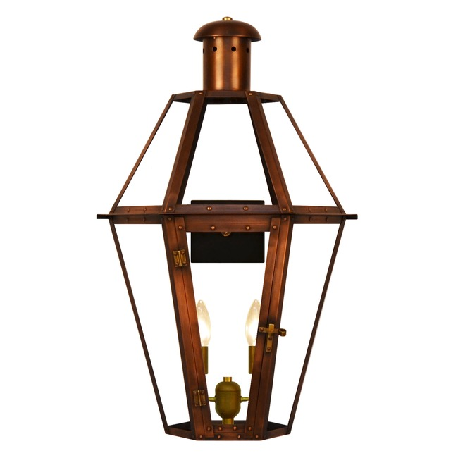 Mt. Vernon Outdoor Wall Light  by The CopperSmith