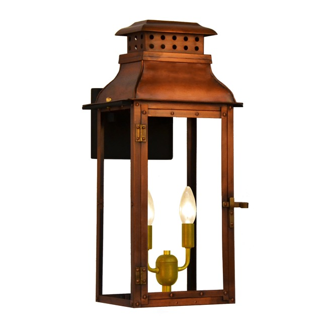 Palmetto Outdoor Wall Light  by The CopperSmith